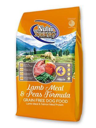 NUTRISOURCE GRAIN FREE LAMB PEA 30#