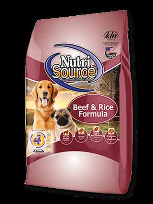 NUTRISOURCE BEEF & RICE