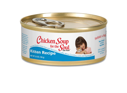 CHICKEN SOUP FOR THE SOUL KITTEN CANNED